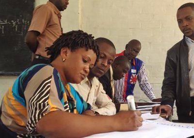 """Corso di """"Gouvernance participative"""" della Banca Mondiale presso la Repubblica Democratica del Congo"""