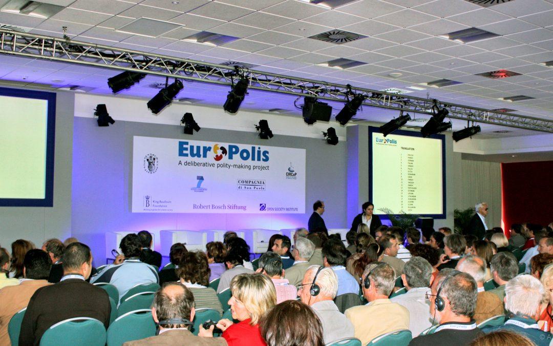 Europolis: a European deliberative polity-making project