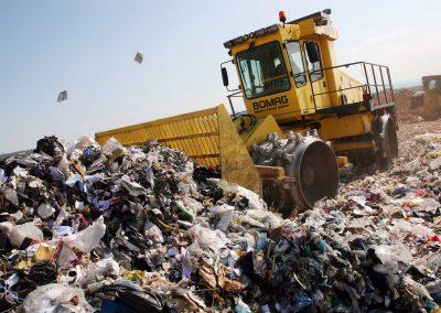 Mechanical-biological waste treatment in Reggio Emilia